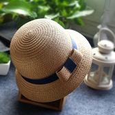 夏女寶寶帽兒童沙灘遮陽帽女童公主帽太陽夏