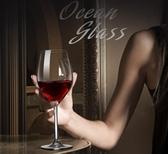 進口水晶紅酒杯套裝家用歐式玻璃高腳杯葡萄酒杯醒酒器4/6只