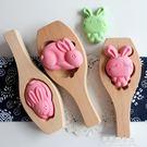 新款兒童立體卡通南瓜饅頭包子月餅模子綠豆糕點面食烘焙木質模具 果果輕時尚