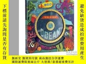 二手書博民逛書店海洋罕見英文原版 Slide-N-Seek Ocean 大開本