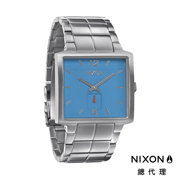 NIXON DISTRICT 正裝裱 天藍銀 潮人裝備 潮人態度 禮物首選
