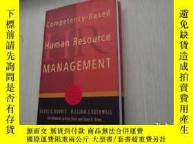 二手書博民逛書店Competency-Based罕見Human Resource
