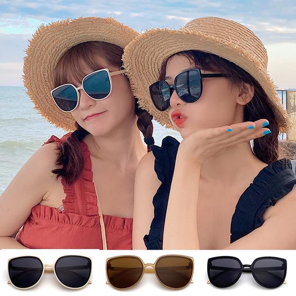 韓版墨鏡 網紅墨鏡 潮流太陽眼鏡 明星款眼鏡 抗紫外線UV400