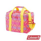 Coleman 15L 紅葉圖騰保冷袋 CM-22230 / 保冰袋 行動冰箱 冰桶 手提袋 露營 登山