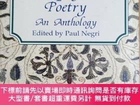 二手書博民逛書店英文原版:Metaphysical罕見Poetry An AnthologyY367822 Edited by