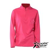 【PolarStar】女 立領保暖長袖上衣『桃紅』P20228 上衣 休閒 戶外 登山 吸濕排汗 透氣 長袖