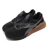 Reebok 訓練鞋 Nano 9 黑 棕 男鞋 運動鞋 CrossFit 健身 【ACS】 EG4422