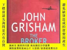 二手書博民逛書店|16開本精裝本|英語小說罕見The Broker   John
