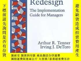 二手書博民逛書店Process罕見Redesign: The Implementation Guide For Managers-