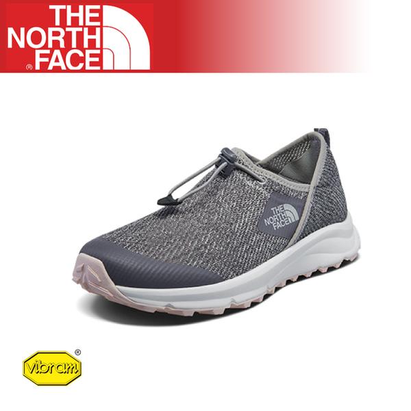 【The North Face 女 休閒鞋《兔灰/泥灰》】3RDN/耐磨慢跑鞋/Vibram黃金大底/懶人鞋/透氣