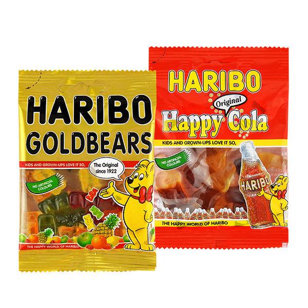 德國 HARIBO 哈瑞寶 Q軟糖 45g 可樂風味/水果風味/進口/哈利寶/零食/糖果 ◆86小舖◆