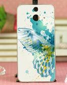 ✿ 3C膜露露 ✿ HTC One E8【翅膀*水晶硬殼 】手機殼 保護殼 保護套 手機套