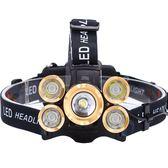 頭燈強光充電超亮頭戴式感應打獵夜釣魚led變焦鋰電礦燈疝氣戶外