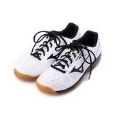MIZUNO SKY BLASTER 輕量羽球鞋 白黑銀 71GA194510 男鞋 鞋全家福