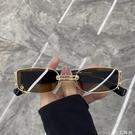 歐美復古墨鏡女ins方框潮街拍蹦迪復古朋克太陽鏡百搭眼鏡網紅款 小艾新品