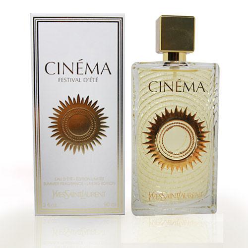 【UR8D】Yves Saint Laurent YSL 聖羅蘭 Cinema Festival D'ETE 電影院06年夏季珍藏限量版女性淡香水 90ml
