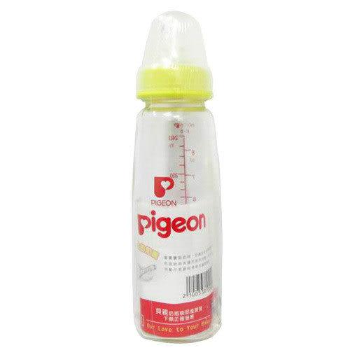 【奇買親子購物網】貝親PIGEON母乳實感玻璃奶瓶/一般口徑(240ml)