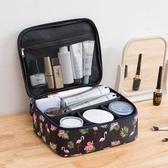 洗漱包 網紅化妝包ins風超火小號女便攜簡約大容量旅行隨身品箱收納袋盒