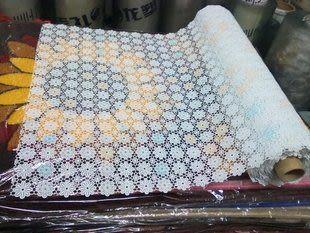 天然橡膠花布/PVC桌布