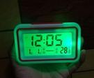 鬧鐘老人盲人語音報時表數字顯示臺式電子表多功能時鐘 花樣年華