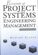二手書博民逛書店《Essentials of Project and Systems Engineering Management》 R2Y ISBN:047103195X