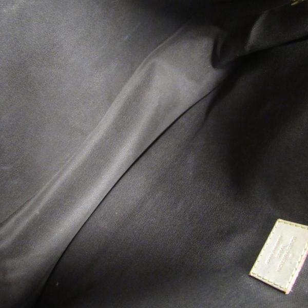 LOUIS VUITTON LV 路易威登 棕色原花掀蓋式肩背包 MENI MONTANT MM 【BRAND OFF】
