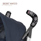 BeBe Amico 推車手把套 -典雅花卉圖(彎形) 把手保護套.扶手套.握把套