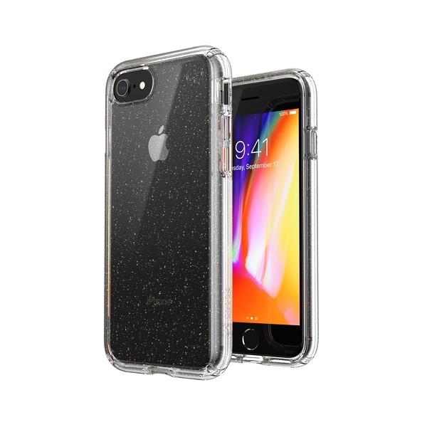 Presidio Perfect-Clear Gltr iPhone SE/8/7 抗菌透明/閃亮防摔殼(4米防摔)