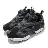 Reebok 休閒鞋 Instapump Fury OG 黑 灰 岩元素 男鞋 復古慢跑鞋【ACS】 FW7699