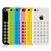 Miravivi iPhone 5C 可愛繽紛糖果色系洞洞保護套
