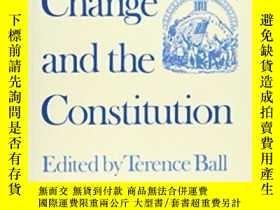 二手書博民逛書店Conceptual罕見Change And The ConstitutionY255562 Ball, Te