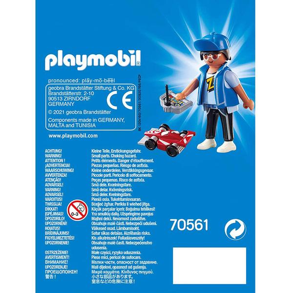 playmobil 摩比人積木 玩遙控車男孩_PM70561