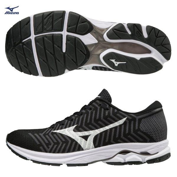 胖媛的店 美津濃MIZUNO 女慢跑鞋 WAVEKNIT技術編織 WAVEKNIT R1 J1GD182402