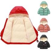 兒童外套 冬季秋冬兒童加絨棉衣男童面包棉服女童棉襖小孩加厚外套【快速出貨】