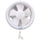 排氣扇6寸玻璃圓形抽風機靜音家用窗式換氣扇排風扇 220v  汪喵百貨