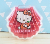 【震撼  】Hello Kitty 凱蒂貓KITTY 收納分隔盒紅貝殼