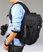 攝影包專業防盜尼康佳能單反包數碼相機男女背包雙肩包【店慶8折】