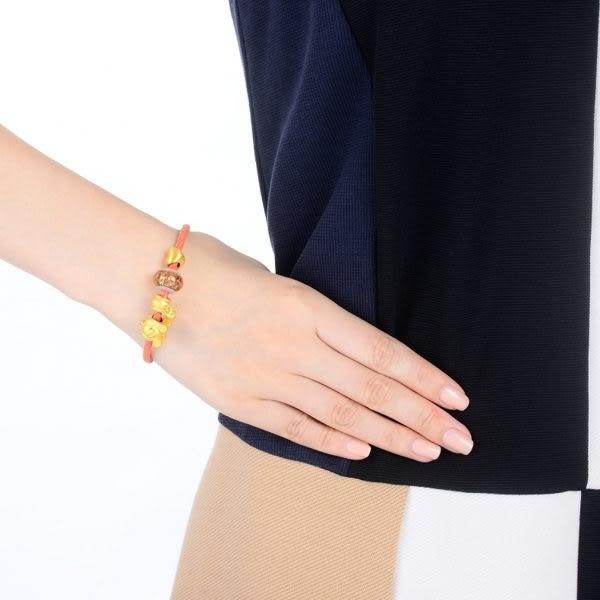 點睛品Charme Murano Glass灰姑娘限量版 黃金串珠