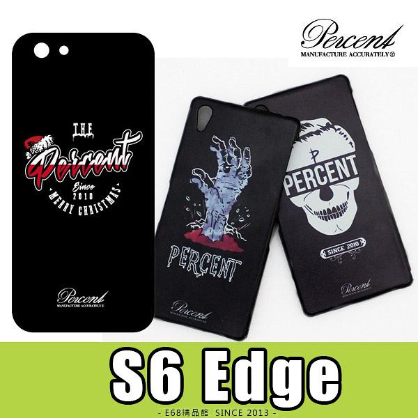 E68精品館 台灣品牌 三星 SAMSUNG S6 edge PERCENT 彩繪設計背蓋硬殼保護套手機套手機殼保護殼 G925