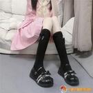 小腿襪韓版甜美蝴蝶結洛麗塔瘦腿襪中筒襪女日系JK學院風【公主日記】【小獅子】