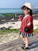 女童外套 2019女童裝秋裝正韓休閒兒童針織開衫外套女寶寶小孩洋氣毛衣【全館免運】