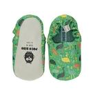 英國 POCONIDO 手工鞋|嬰兒鞋|學步鞋-鴕鳥一家人(6~24M)