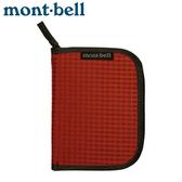 【Mont-Bell 日本 ZIP WALLET 拉鍊錢包《磚橘》】1123767/證件袋/零錢包/皮夾/隨身包