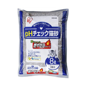 寵物家族-【3包免運組】日本IRIS-健康貓砂8L-尿道結石專用 (KCM-80)