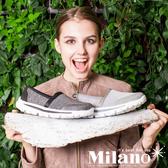 W&M MODARE系列 素面直套式休閒鞋 女鞋-黑(另有藍、灰)