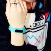 電子表LED手錶創意男表學生輕薄男士運動軟手環防塵果凍女表防水 igo 卡布奇諾