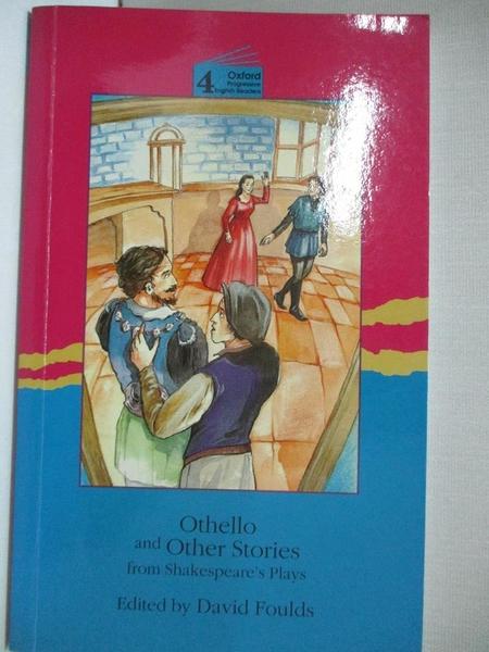 【書寶二手書T1/原文小說_ICF】Othello and Other Stories from Shakespeare_Not Available (NA)