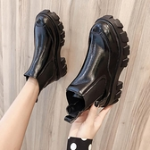 薄款馬丁靴女潮ins英倫風2021年新款百搭春秋單靴厚底小個子短靴4 幸福第一站