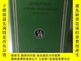 二手書博民逛書店英文原版:洛布經典叢書罕見LOEB CLASSICAL LIBRARY # Josephus Jewish Ant
