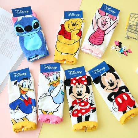 韓國 迪士尼滿版全身造型短襪 襪子 短襪 造型襪 流行襪 米奇 米妮 維尼 唐老鴨 史迪奇
